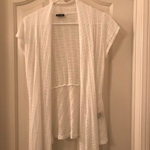 Women's Rue 21 white cardigan